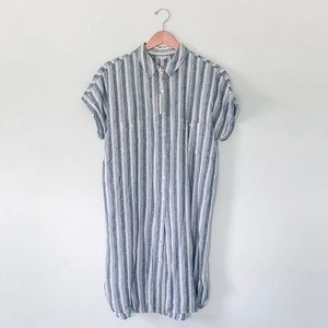 Max Studio NWT 100% Linen Shift Dress